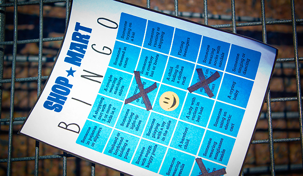 Funny Pictures Photos Fail Bingo Card Walmart